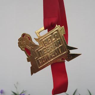 Bentuk medali Bela Negara Run 2017