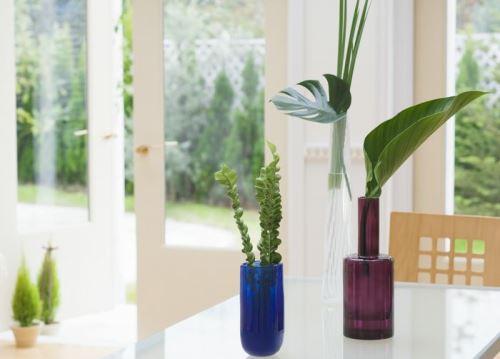 Bunga Hiasan Sudut Ruang Tamu Rancangan Desain Rumah