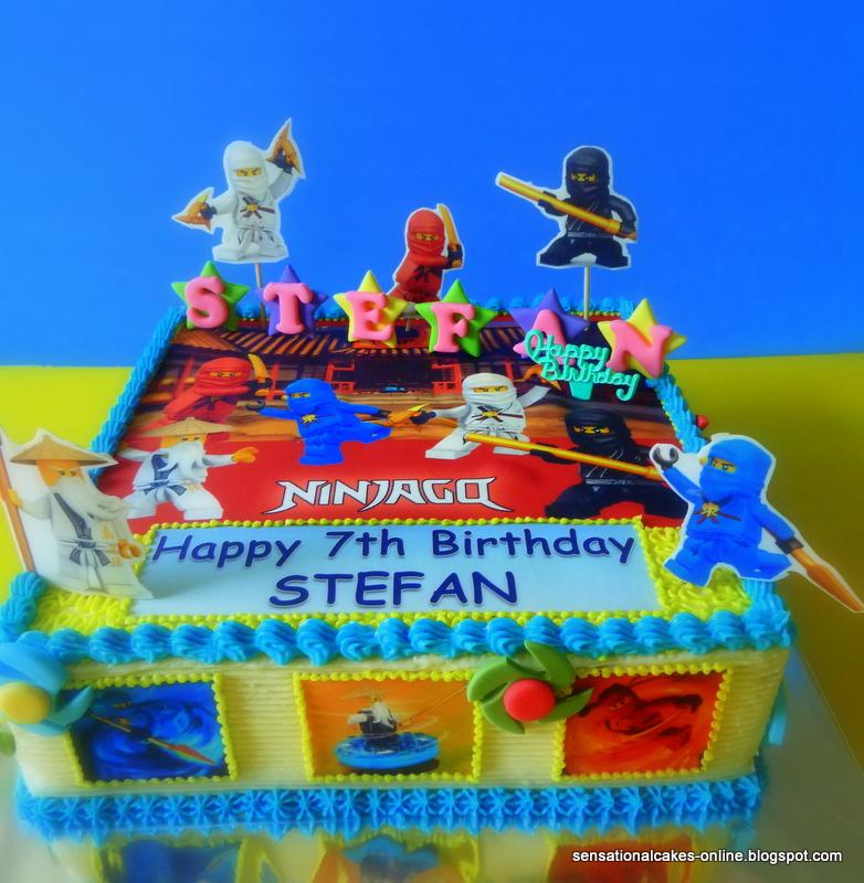 Ninjago Birthday Cake Singapore