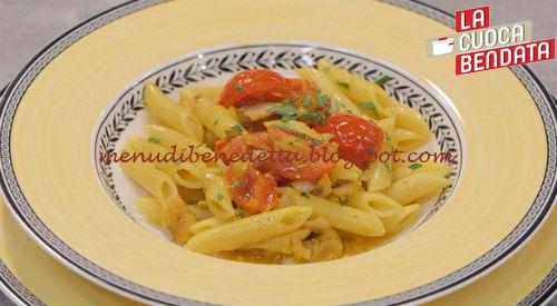 La Cuoca Bendata - Pennette gialle alle triglie ricetta Parodi
