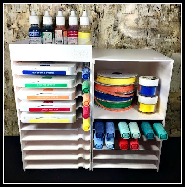 Storage, Ink Pad Storage, Marker Storage, Blends Storage, Organization