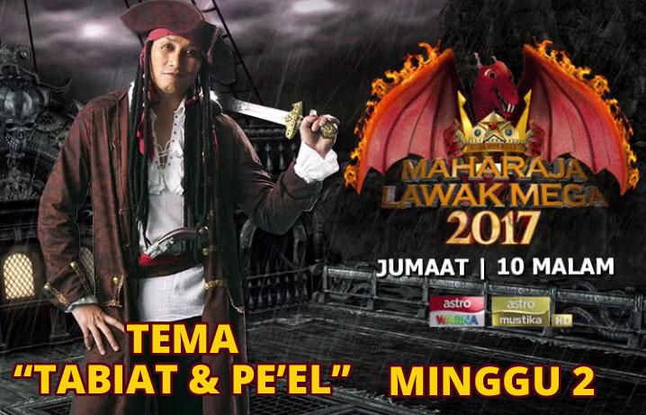 Tonton Video Maharaja Lawak Mega 2017 Minggu 2 Full
