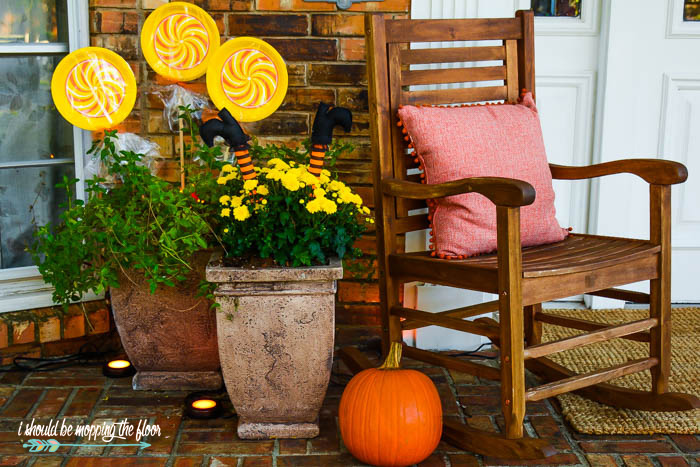 Cute Fall Front Porch