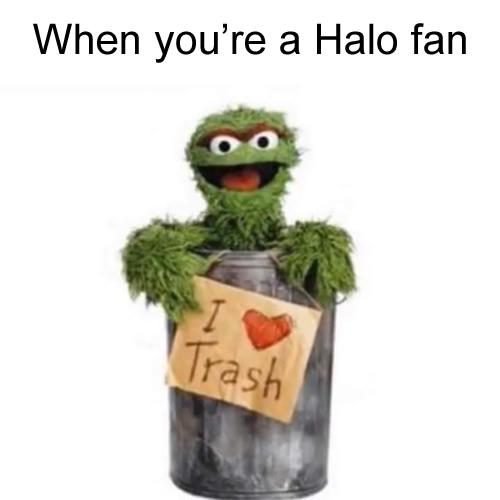 Quando você é fã de Halo