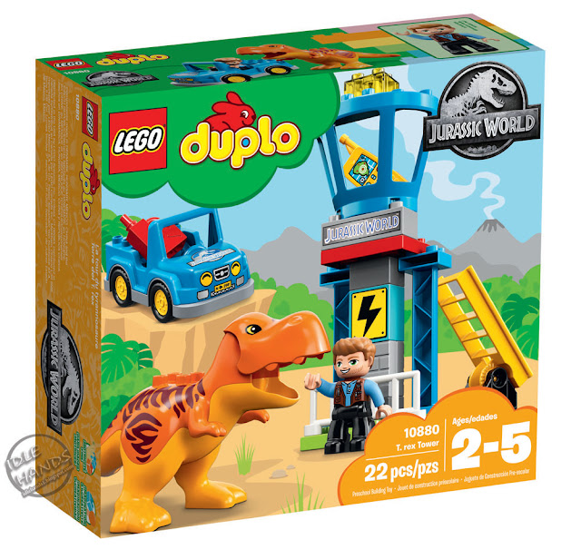 Toy Fair 2018 LEGO Duplo Jurassic World Trex Tower