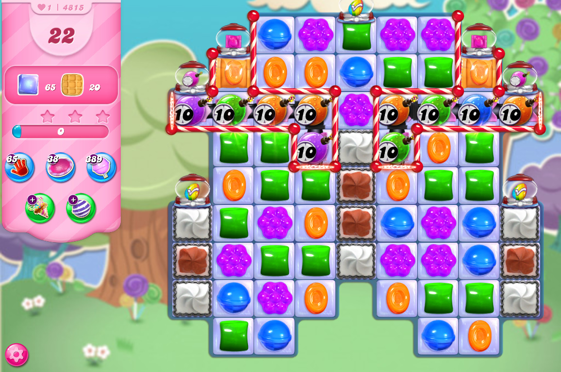 Candy Crush Saga level 4815