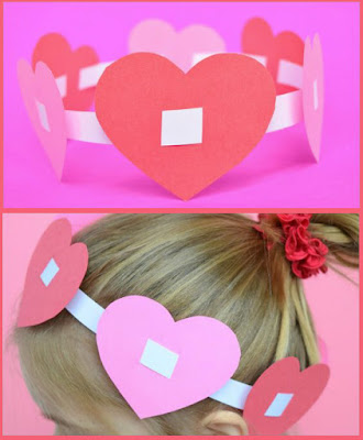 http://www.cuttingtinybites.com/2016/01/valentine-crowns-easy-kids-craft.html