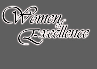 Women of Excellence Floral Logo Design