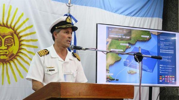 Estudian contactos detectados en búsqueda del ARA San Juan