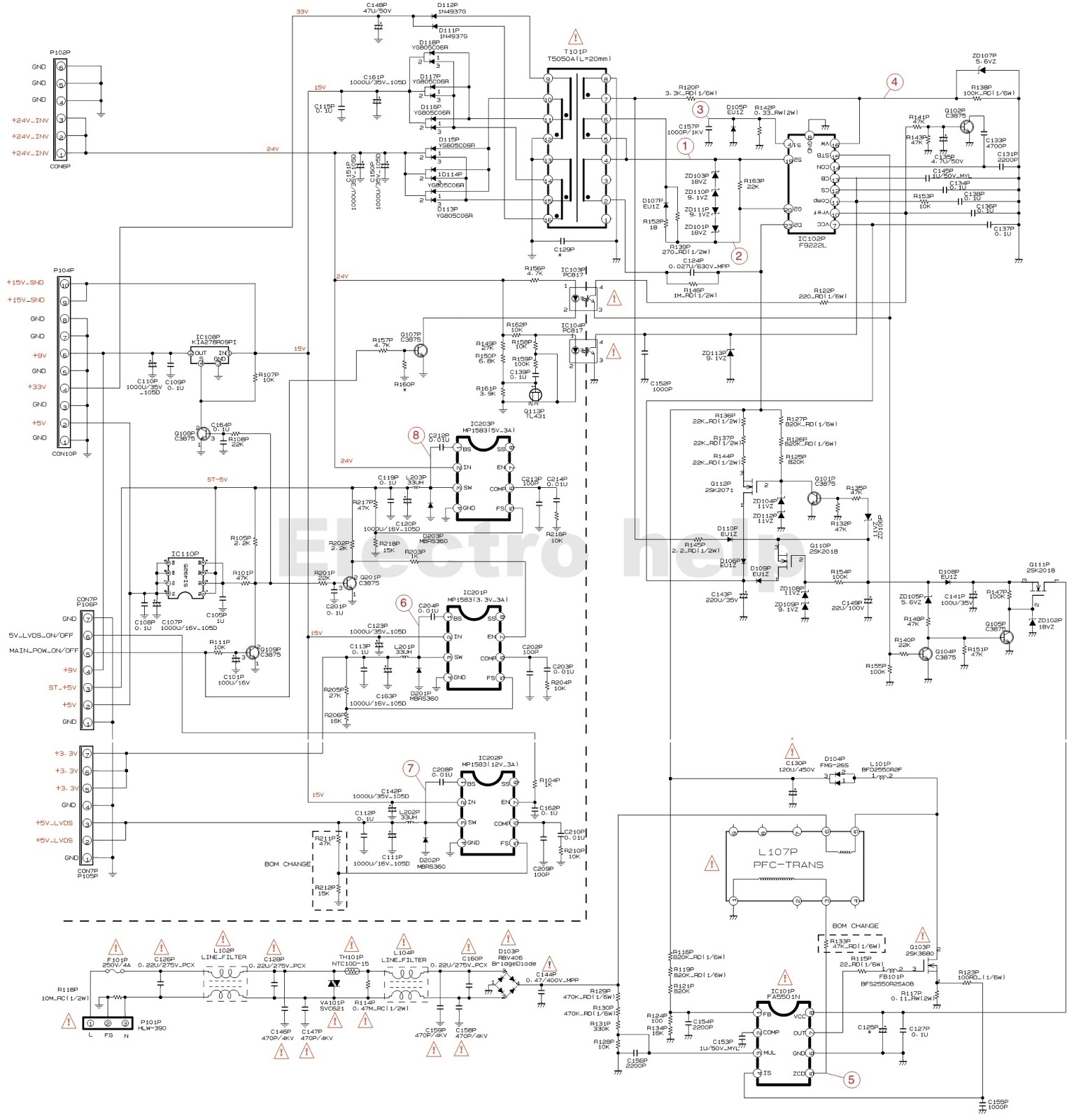 Grundig Xentia 26 Grundig Montreal 26 26inch Lcd Tv Smps Schematic