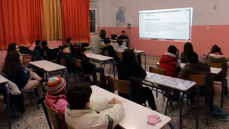 Εκδήλωση των μαθητών και καθηγητών του Λαϊκού Φροντιστηρίου Αλεξανδρούπολης