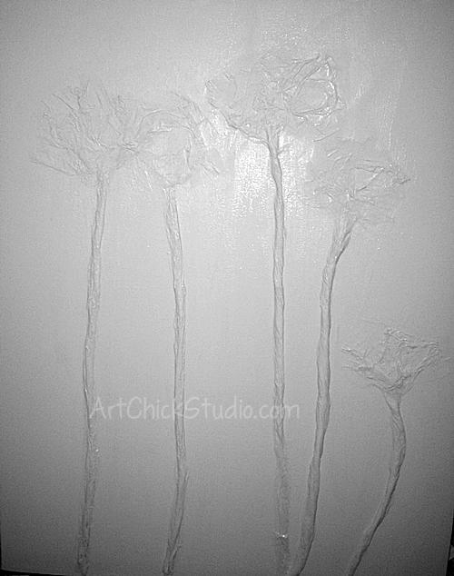 Poppy Painting 1 Mixed Media