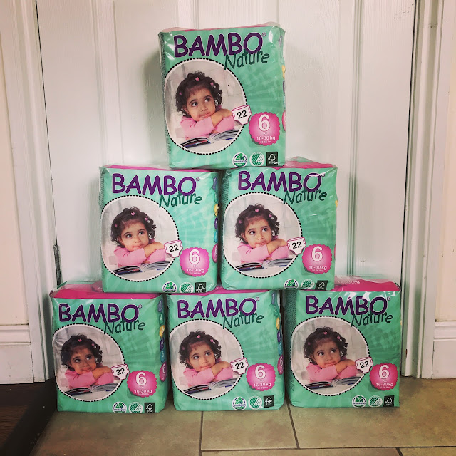 BAMBO Nature Nappies - Mrs Bishop's Bakes and Banter