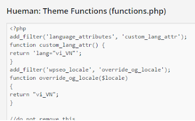 Human: Theme Functions (functions.php)