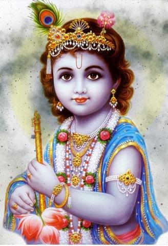Narayan, Vishnu, Krishna, Balkrishna, Krishna with Flute, Achyutam Keshavam RamNarayanam Krishna damodaram vasudevam Harim