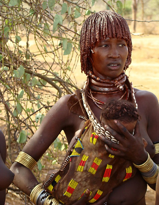 tribe girls african Woman