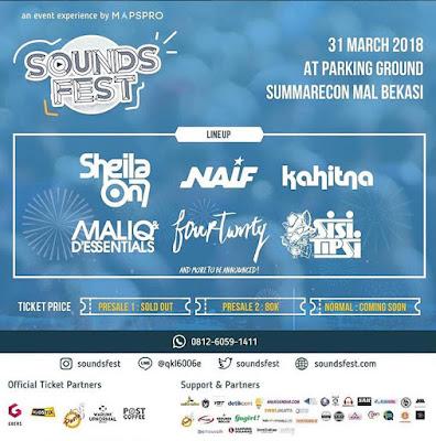 Monitor Bekasi - Sound Fest Kota Bekasi