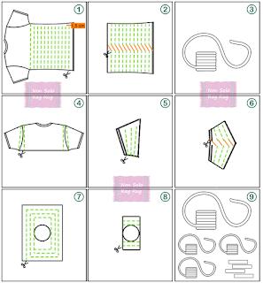Come ricavare la fettuccia da una maglietta