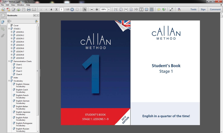 CALLAN METHOD STAGE 6 PDF DOWNLOAD : PDF Now!