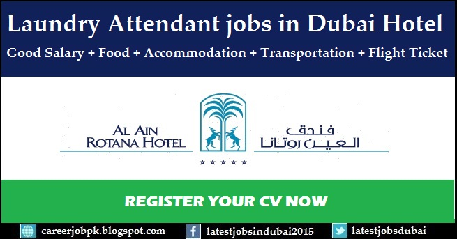 Laundry Attendant jobs in 5 Star Hotel Dubai