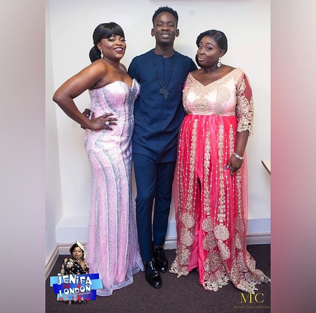 Funke Akindele And Hubby Debuts Red Carpet In Style.