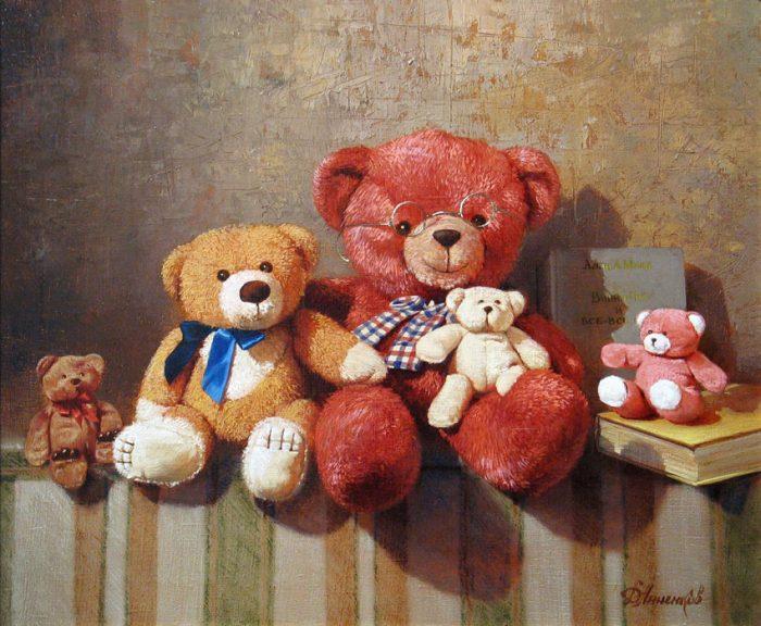 Мастер натюрморта. Дмитрий Анненков