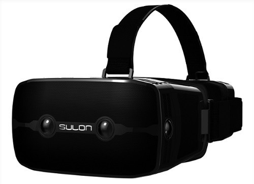 AMD virtual reality headset Sulon Q and Western Digital USB 314GB HDD for Raspberry Pi