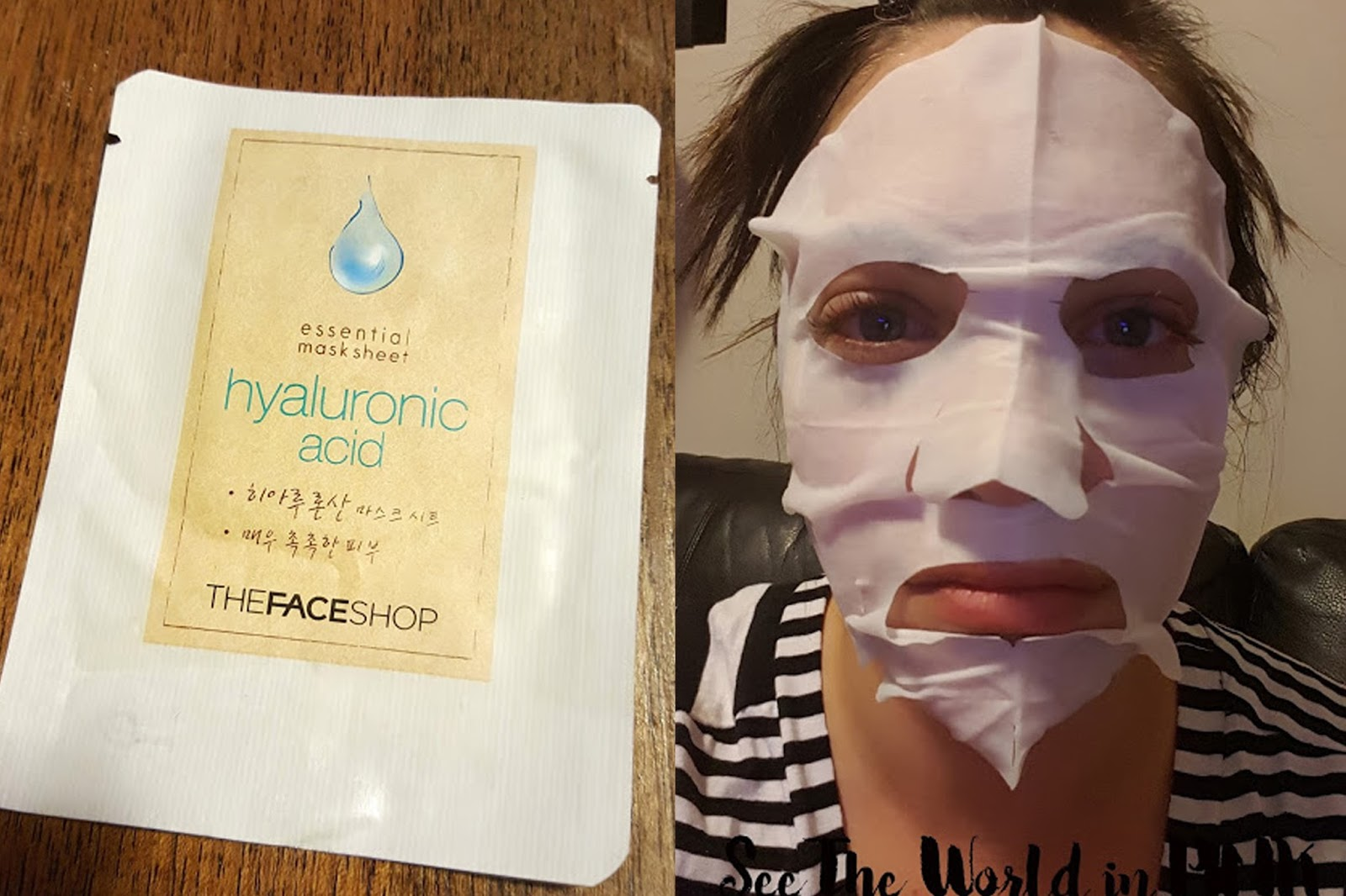The Face Shop Essential Mask Sheet - Hyaluronic Acid
