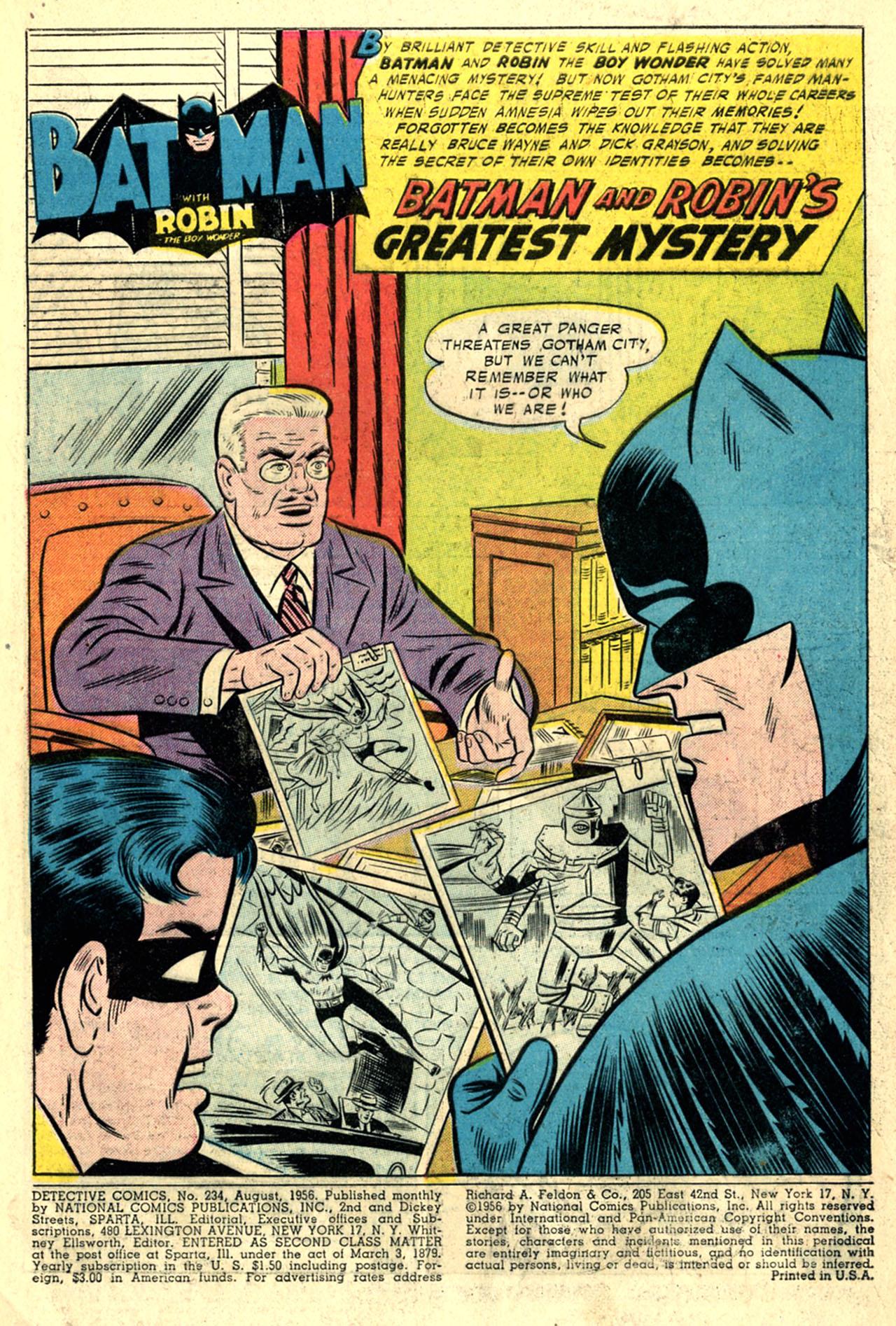 Detective Comics (1937) 234 Page 2