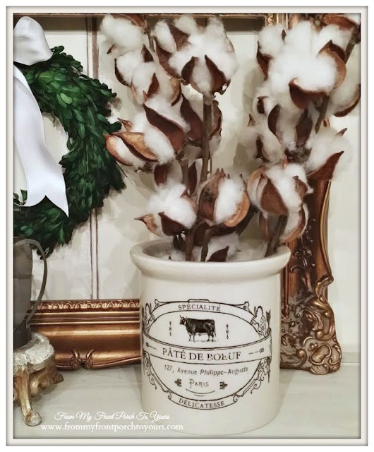 Cow Crock-Farmhouse Decor- From My Front Porch To Yours