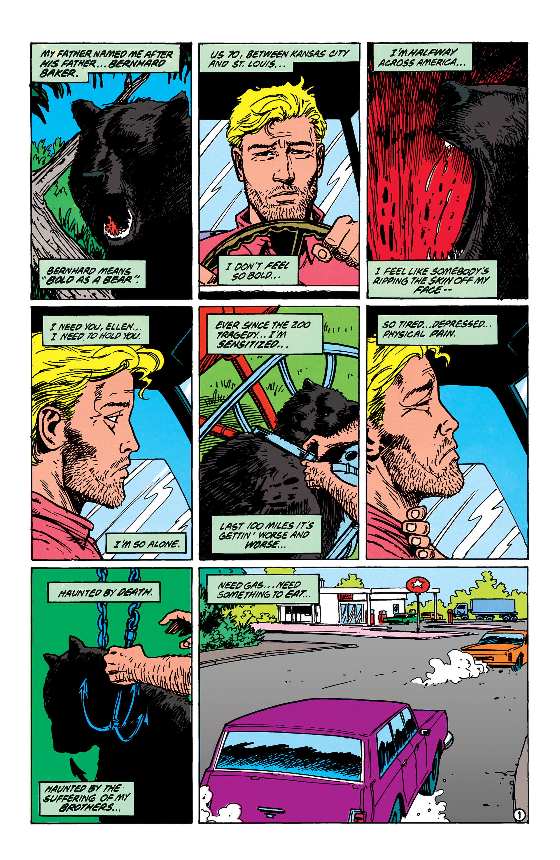 Read online Animal Man (1988) comic -  Issue #40 - 2