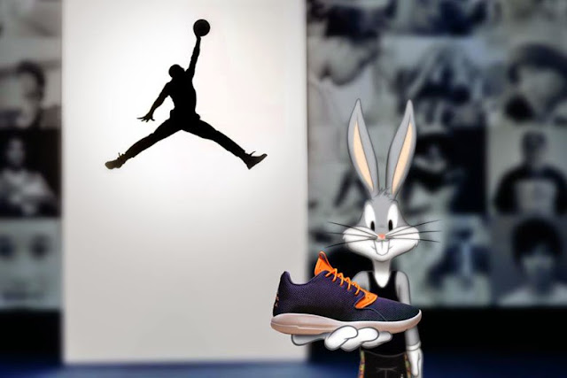 Jordan ficha a Bugs Bunny para su última campaña