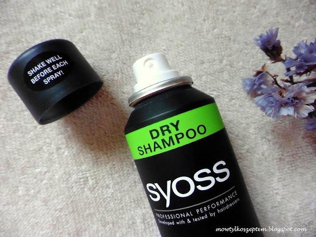 suchy-szampon-syoss, zielony-syoss, dry-shampoo-syoss