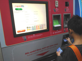 cara beli tiket MRT di Kuala Lumpur