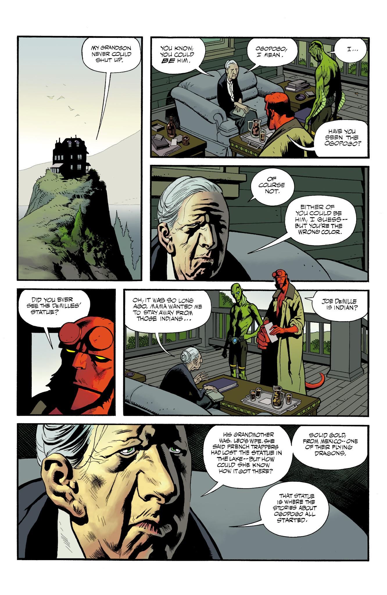 Read online Abe Sapien comic -  Issue #23 - 14