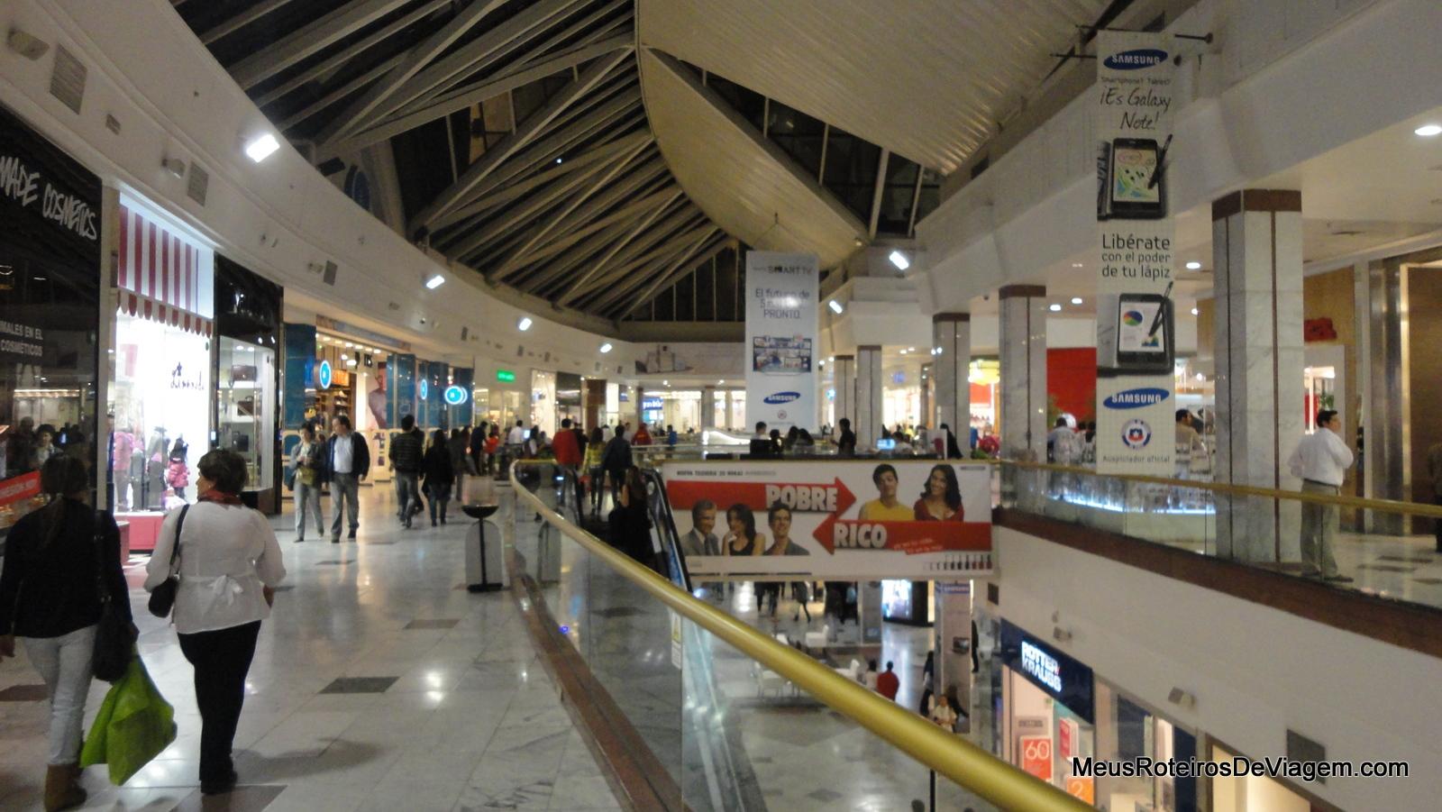 f8823ae7ddf47 Dicas de Compras em Santiago  shoppings, outlets e lojas de ...