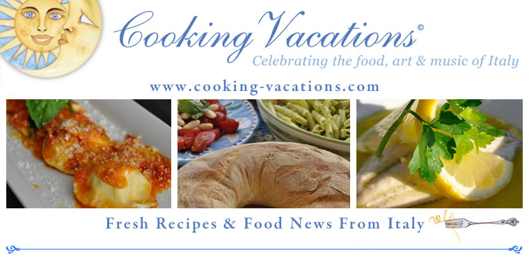 Cooking Vacations Italy-Celebrating The Food, Art & Music Of Italy