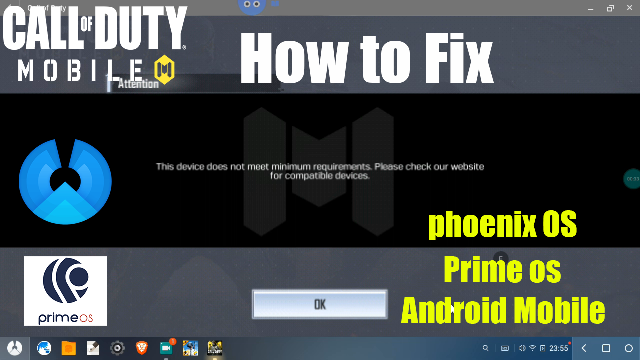 Root] How To Play Call of Duty Mobile on Phoenix OS & Prime