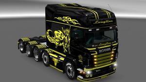 Tribull Scania RJL skin mod