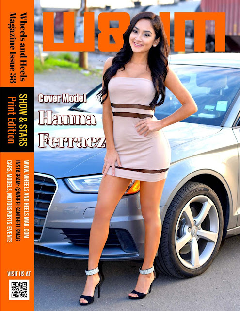 Hanna Ferraez for W&HM Wheels and Heels Magazine Print Issue 38