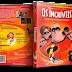 Capa DVD Os Incríveis [Edição de Colecionador - 2 Discos] (Oficial)