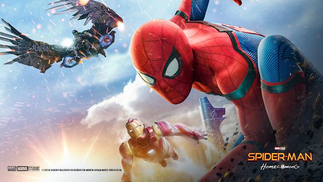 Wallpaper Homecoming: Marvel Spoiler Oficial