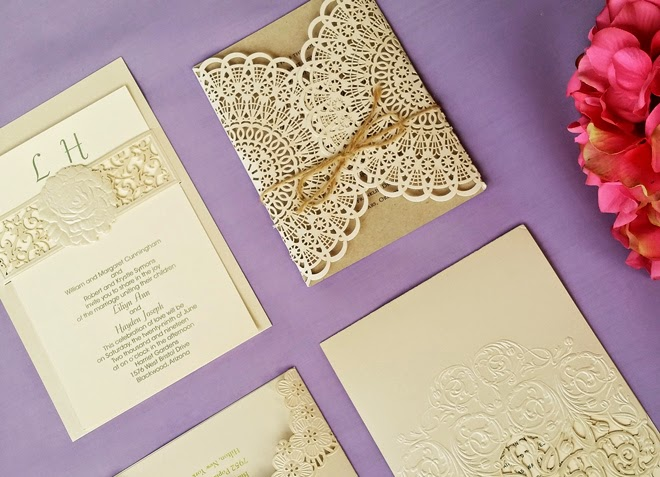 Lace Themed Wedding Invitations: Lace Wedding Invitations… A Fit For Every Theme