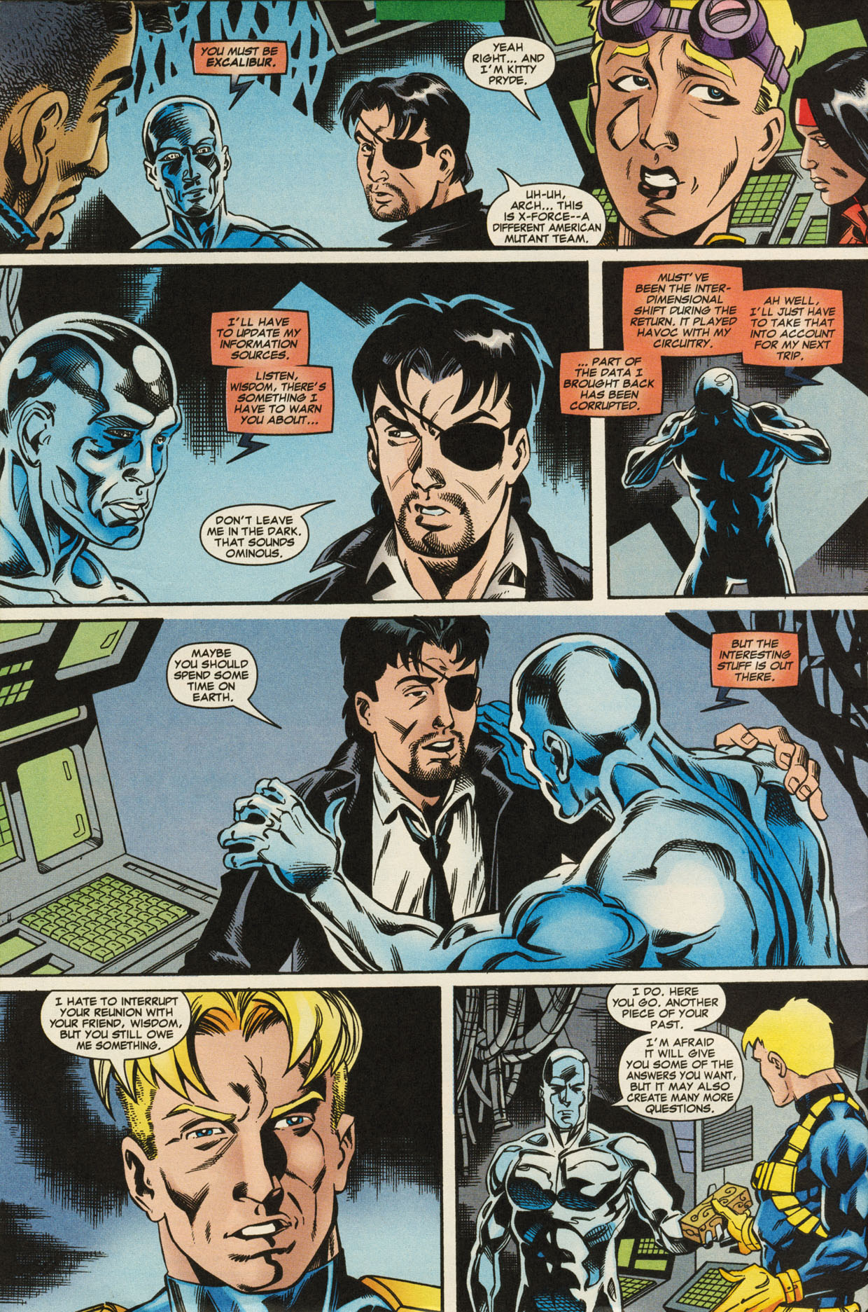 Read online X-Force (1991) comic -  Issue #95 - 31