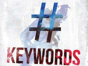 Hashtags or keywords
