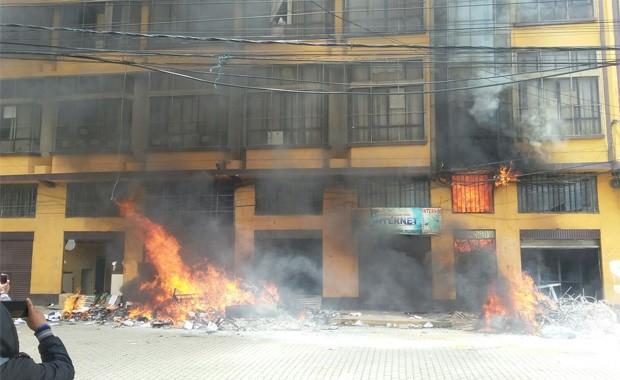 El Alto: Chapetón acusa al MAS de un intento de conspiración a su gestión