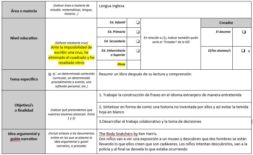 Único Plantilla De Escritura Narrativa Inspiración - Ideas De ...
