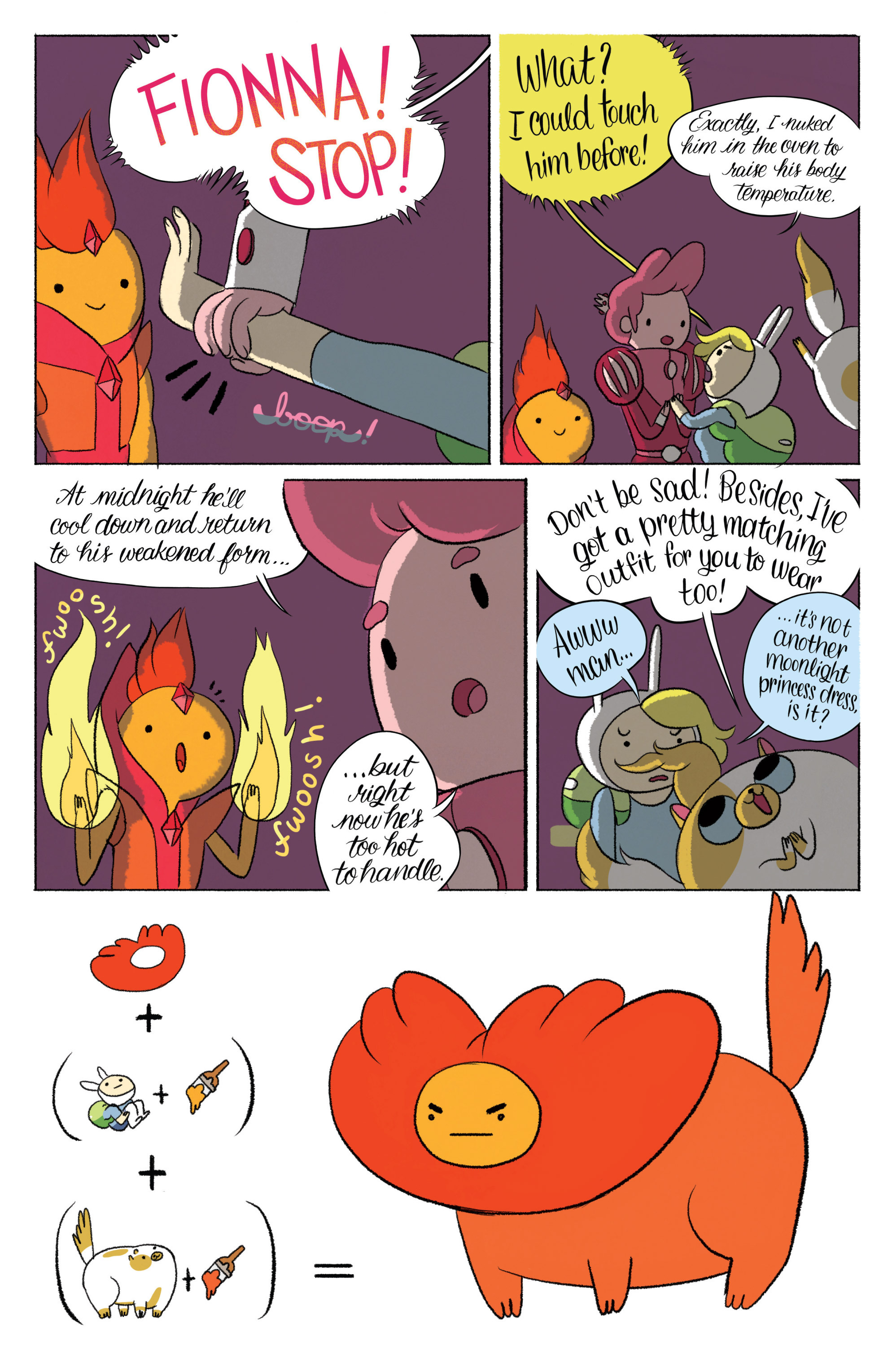 Read online Adventure Time with Fionna & Cake comic -  Issue #5 - 12