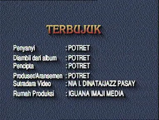 Potret - Terbujuk ( Karaoke )