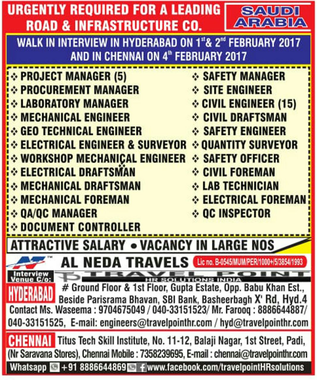 safety officer Find safety officer jobs in saudi arabia at naukrigulfcom search & apply to safety officer vacancies in saudi arabia find job opportunities in top companies.